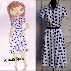st. ignace dress