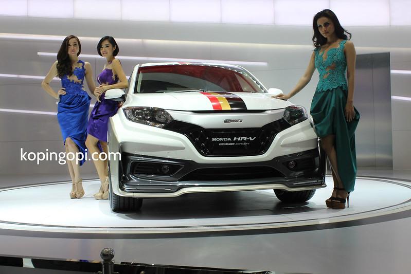 Honda Perkenalkan HR-V di IIMS 2014