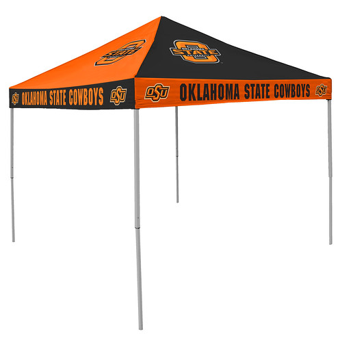 Oklahoma State Cowboys Checkerboard Tailgating Tent