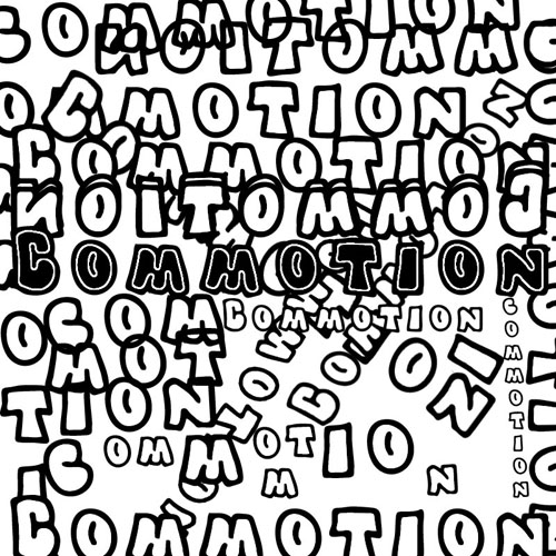 Typographic Expression: Commotion