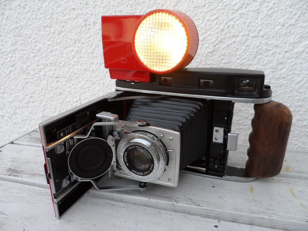 Polaroid 110 A Converted For Instax Wide Film