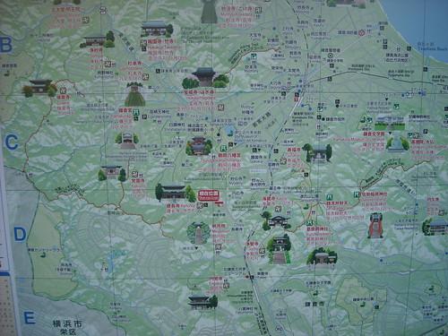 鎌倉 観光マップ