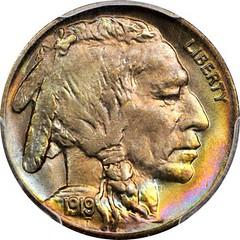 1919 Buffalo Nickel obverse