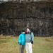 Standing in Front of an 8,000 year old Lava Wall by CC Chapman