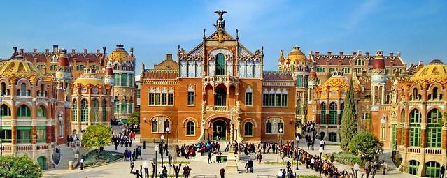Barcelona: Hospital San Pablo