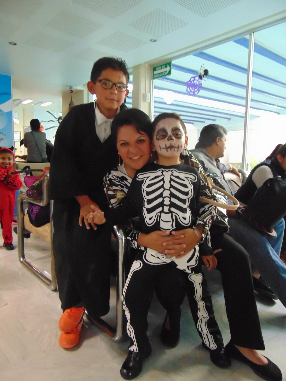 Desfile Día de Muertos, AQUARA Recta