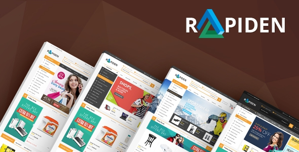 Rapiden v1.0 - Mega Shop Responsive Opencart Theme