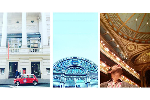 Best Instagrams taken at The Royal Opera House  © 2016 Instagram. Photos by @smallcarbigcity, @tobytobytoby65, @harriettelane