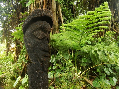 Traditional sculpture - Tanna island