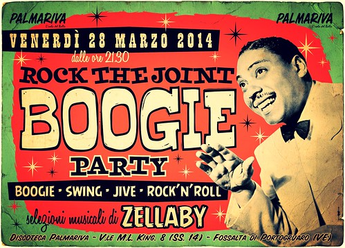 ROCK THE JOINT BOOGIE PARTY @ Palmariva