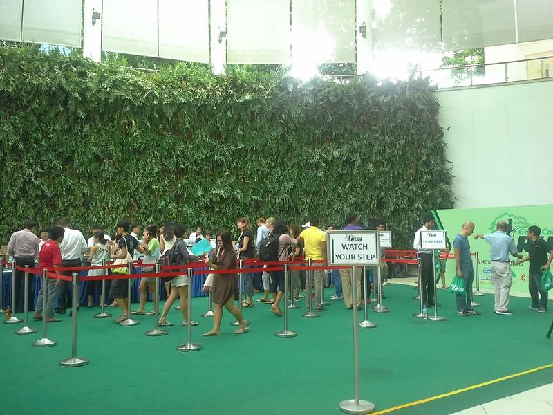 Green Corridor Run race entry pack collection
