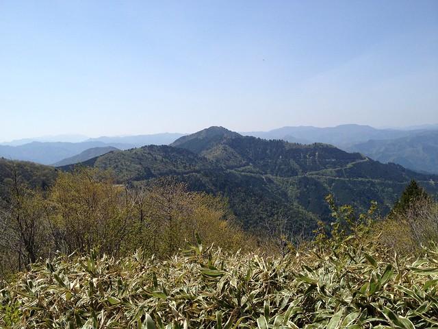 瓢ヶ岳山頂より高賀山