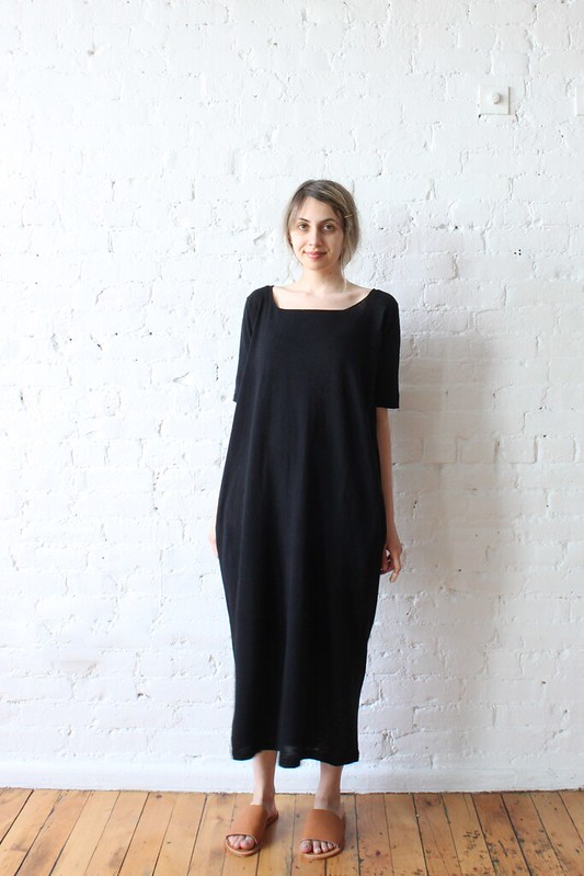 Lauren Manoogian Tall T Dress // Black