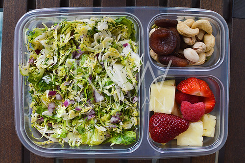 Brussels sprouts bento