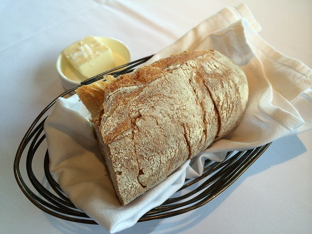 Bread and salted butter - Waterbar