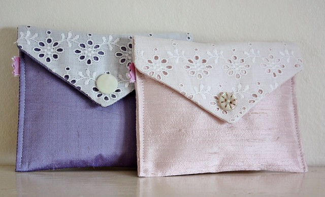 handmade envelope purse