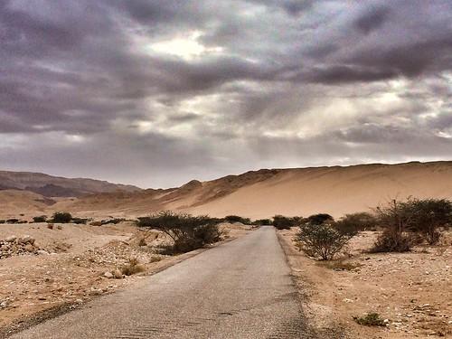 road street sky snow colors landscape amazing scenery asia view desert jordan deadsea ontheroad maan giordania tafila