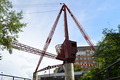Rotherhithe crane