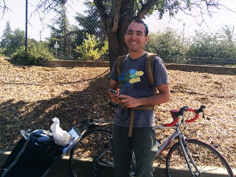 TAMALICIOUS × tamales delivered by very own bikey celebrity+dad @cyclelicious :) ¡gracias!