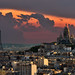 Sunset @ Paris by A.G. Photographe