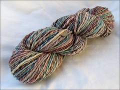 Plum Honey Light handspun