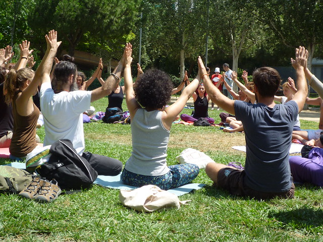 Dia Mundial del Yoga BCN