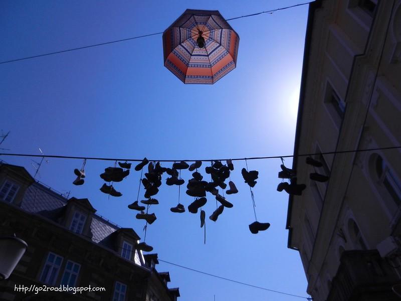 Trubarjeva ulica - украшение