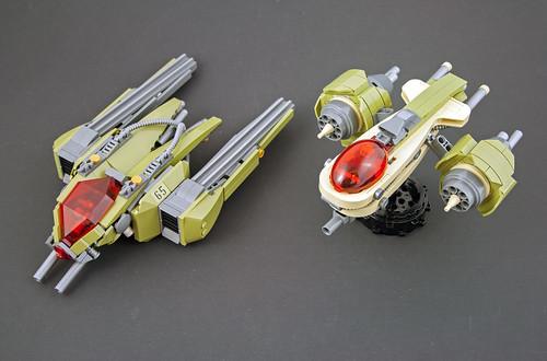 Eclipse Starfighter, Phasor