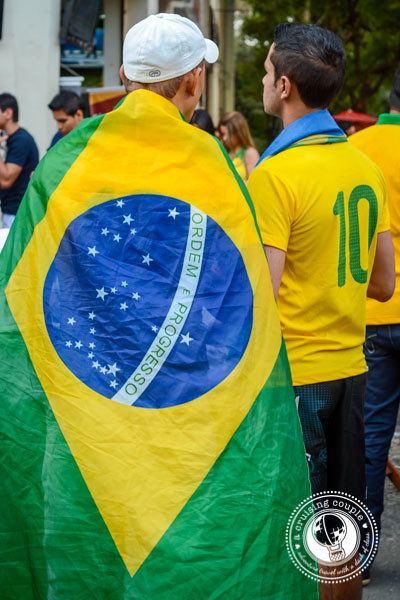 Brazil Flag Cape World Cup 2014