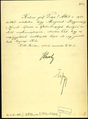 005. IV. Károly levele gróf Tisza István miniszterelnöknek a koronázással kapcsolatos feladatokról
