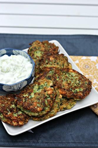 fritters zucchini fritters zucchini fritters kolokithokeftedes greek ...