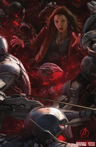 140728(2) - 2015年電影《Avengers: Age of Ultron》(復仇者聯盟2:奧創紀元)9大超級英雄合體海報出爐、台灣4/22隆重上映! 2