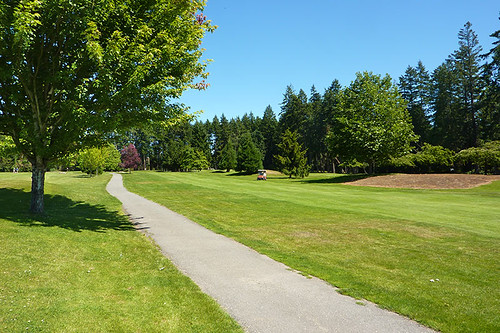 Salt Spring Island Golf & Country Club, Saltspring Island, Gulf Islands, British Columbia.