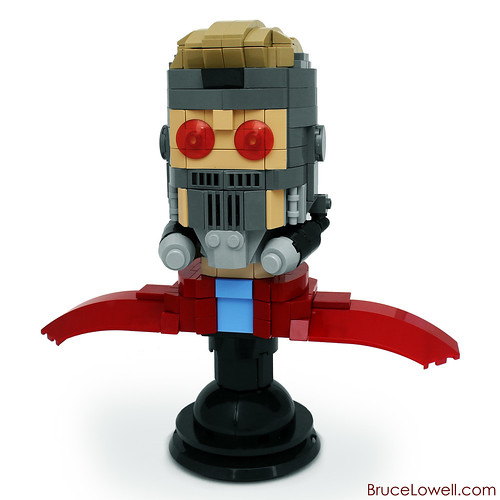 Lego Marvel Star Lord Lego Star Lord Bust