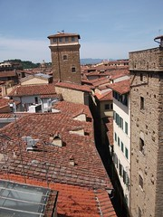 Another view over Florence's Red Tile Roofs