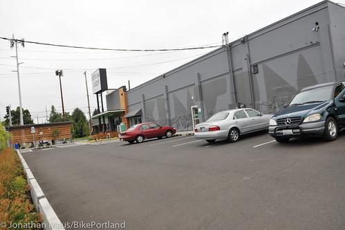 Bike parking at Green Zebra Grocery-7