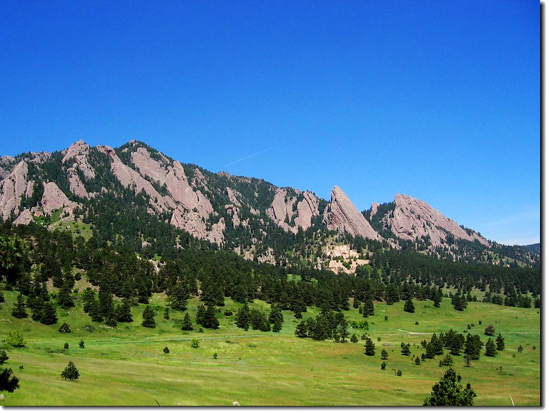 Flatirons(take from Table Mesa Rd.) 3
