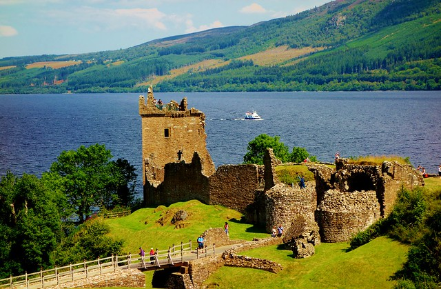 Castle Urquhart, Loch Ness, Scottish Highlands