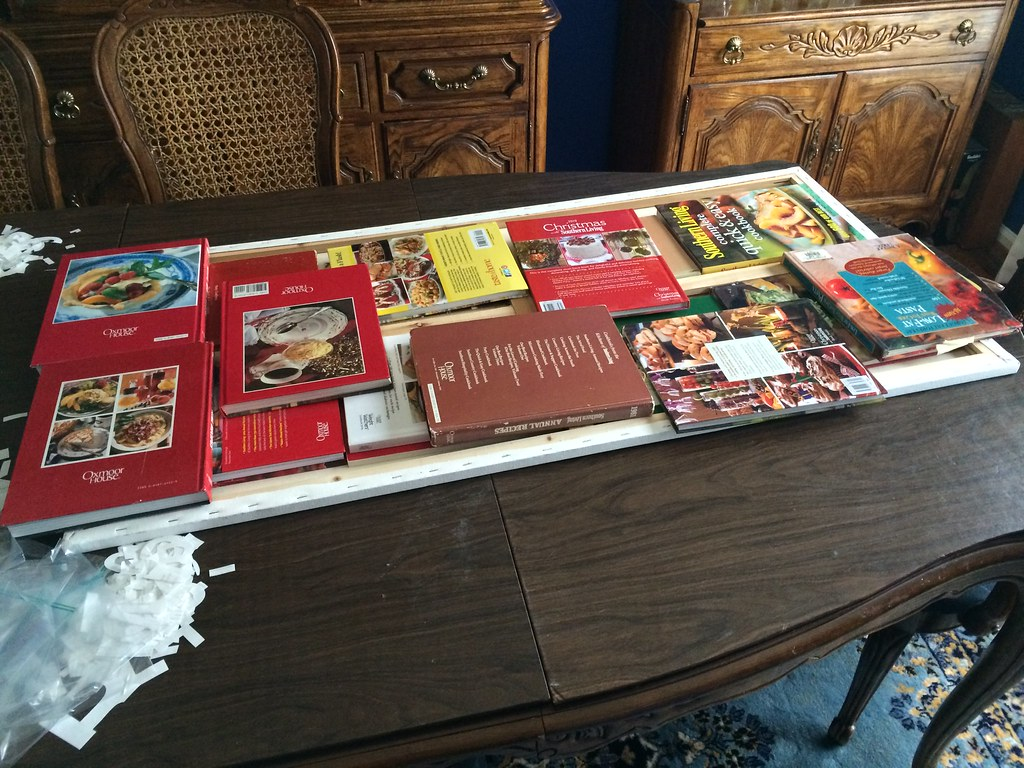never been so thankful Mom has so many cookbooks