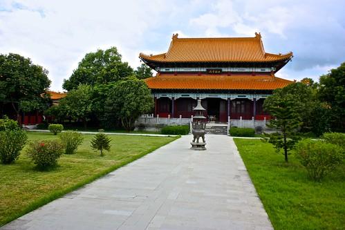 Chinese Buddhist temple at Lumbini
