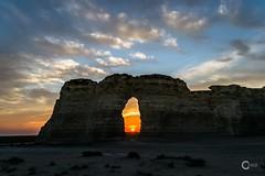 Monument Rocks 7-19-14 Sunset