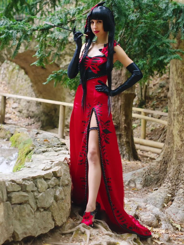 related image - Shooting Yuuko Ichihara - Melisandre - Parc de St Pons - 2014-07-20- P1890043