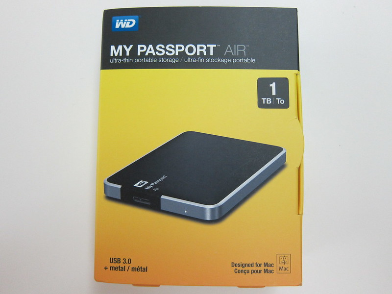 Western Digital My Passport Air - Box Front
