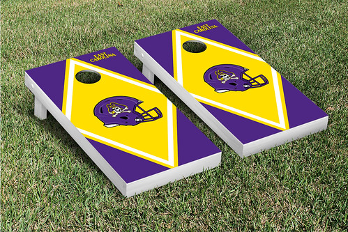 East Carolina University ECU Pirates Cornhole Game Set Diamond