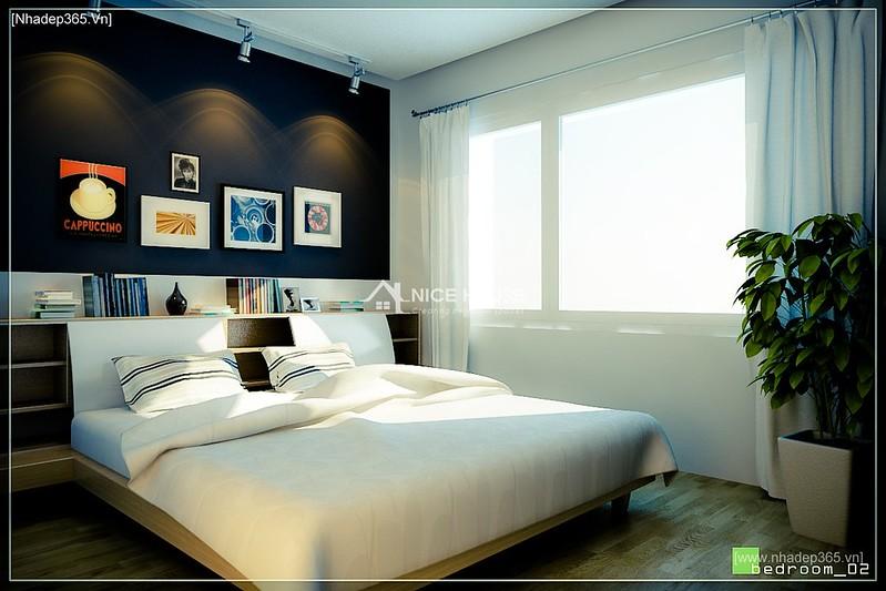 Thiết kế nội thất chung cư M5 - A Chiến_7