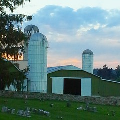 Farm near Sadsbury Meeting house in Christiana, PA