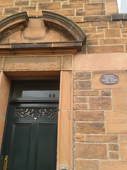 Photo of Ned Barnie black plaque