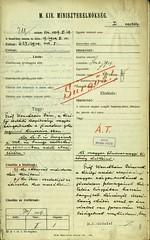 051.Gróf Wenckheim Dénes, a cs. és kir. családi vagyon zárgondnokának levele gróf Bethlen István miniszterelnöknek
