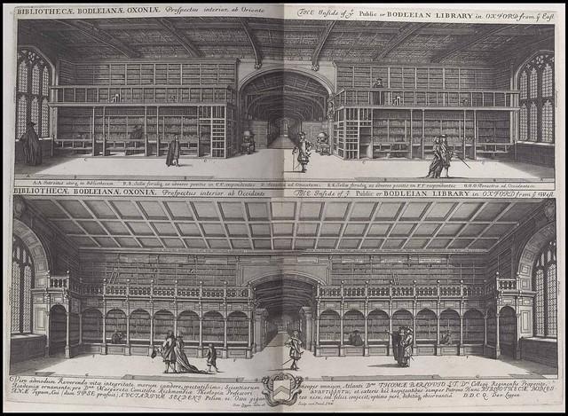 Bodleian Library interior prospectus