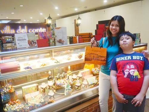 Villa-Del-Conte-Italy-chocolate-Shangrila-Mall,chocolate, Italy chocolate, Villa del Conte, chocolate gift